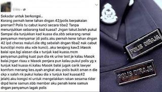 Remaja syor pukul polis tidak tunjuk kad kuasa