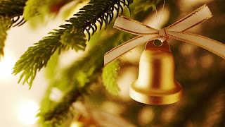 Christmas Decoration Bell Christmas Tree Wallpaper