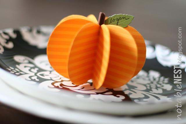Kell Belle StudioPaper Pumpkin Tutorial