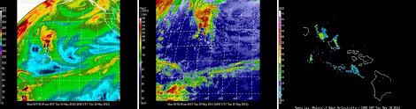 Maui Satelitte Images
