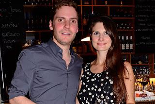 Daniel Bruhl Girlfriend Felicitas Rombold 2013