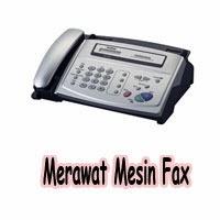 merawat mesin fax