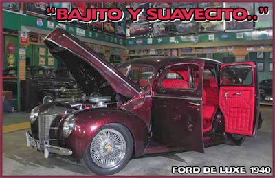 Modified Ford Deluxe 1940