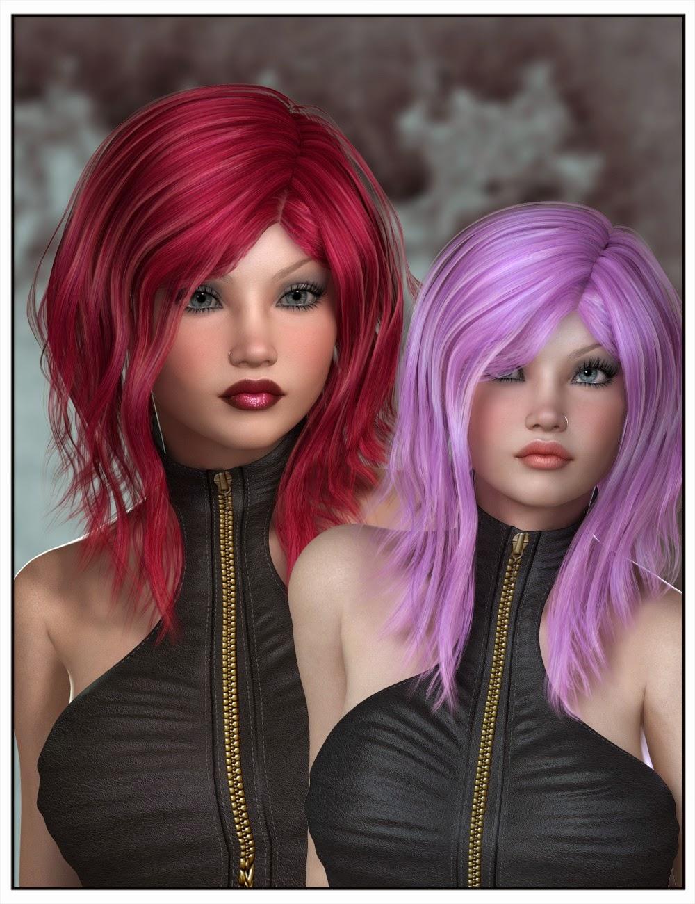 Capucine Couleur des cheveux