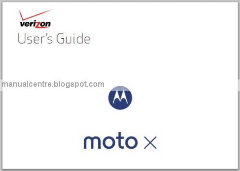 Motorola Moto X Manual Cover