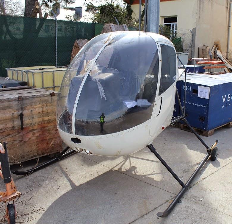 Helicoptero Robinson R22 piezas