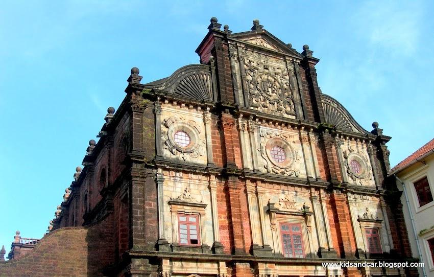 Old Goa church St Xavier's Church Bascilica of Bom Jesus