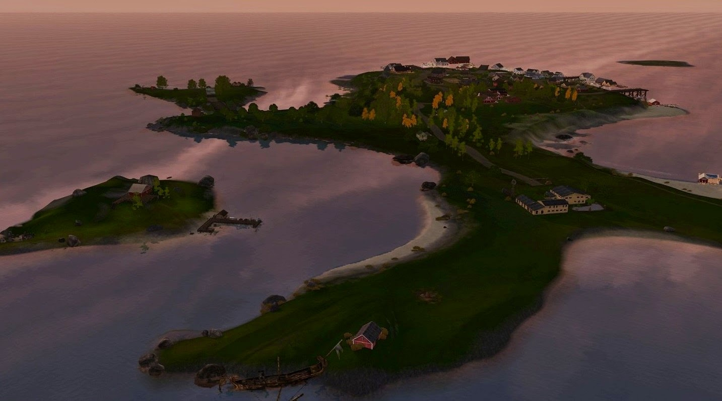 My Sims 3 Blog  Lillebror   A Small Island in Norway by Galadrielh