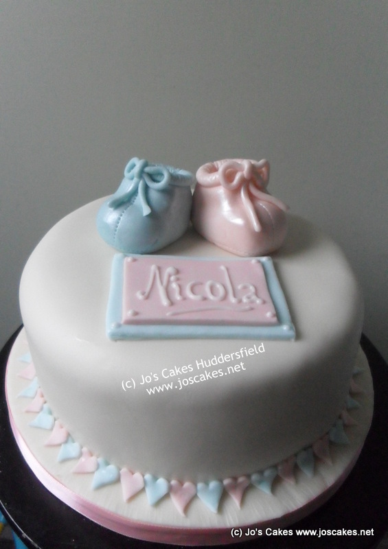 Unisex Baby Shower Cake Images : Jo s Cakes: Baby Shower Cake