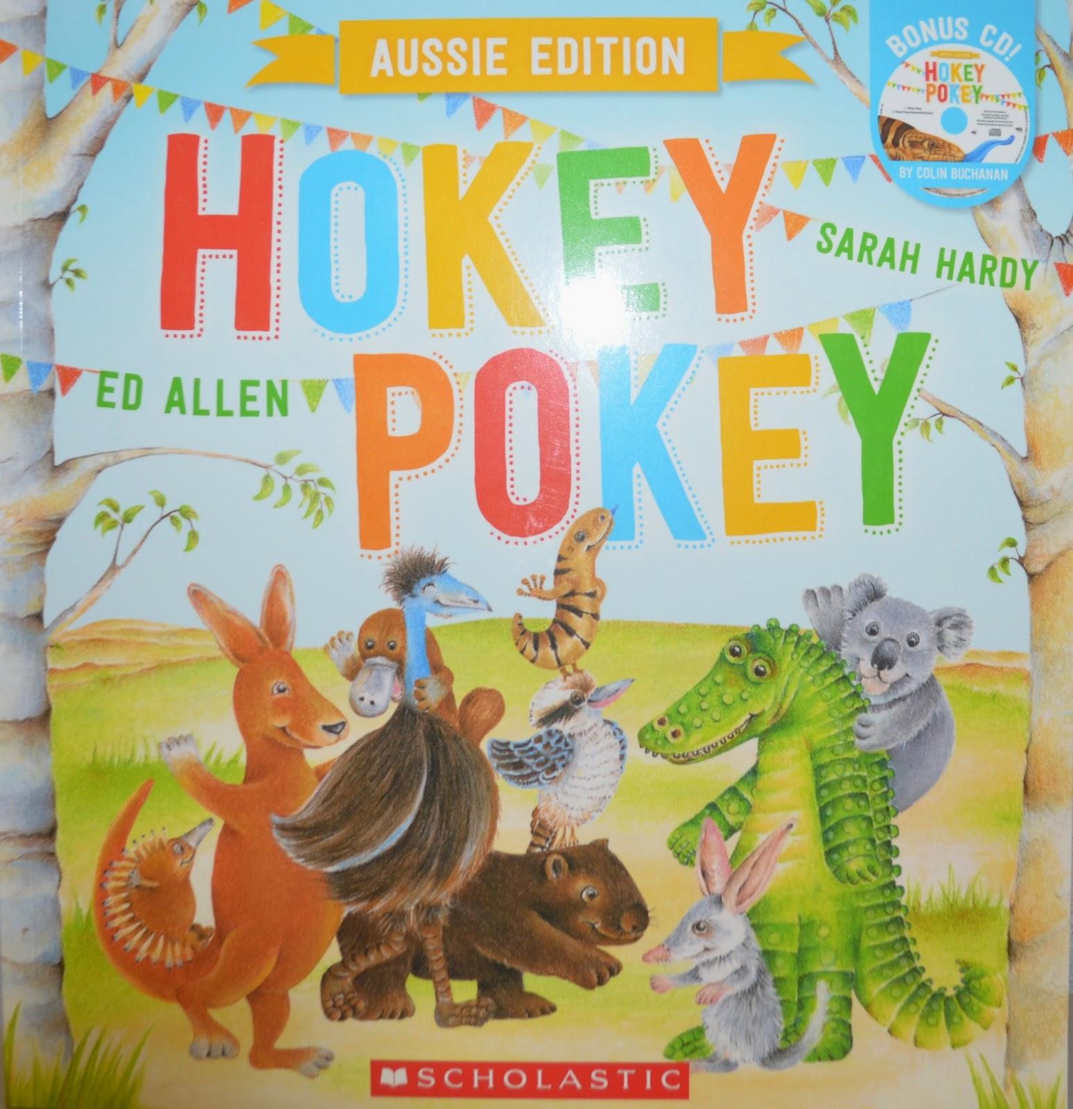 Kids Book - Hokey Pokey