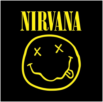 Nirvana Logo Vector Grup Band Format Coreldraw
