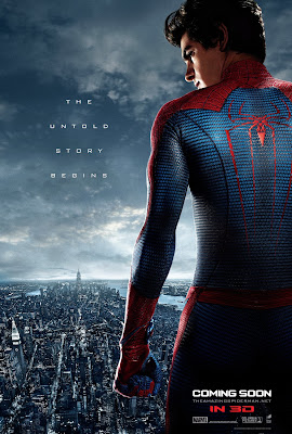"The Amazing Spider-Man Teaser One Sheet Movie Poster - ""The Untold Story Begins"""