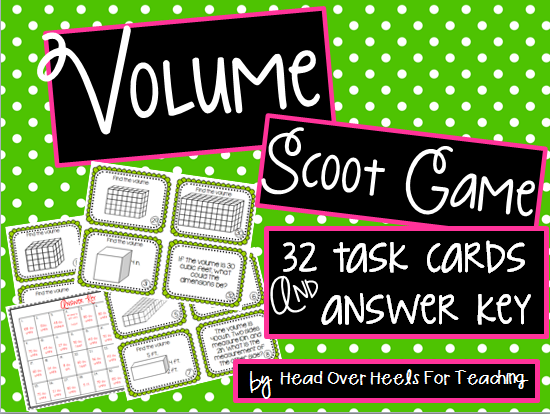 http://www.teacherspayteachers.com/Product/Volume-Scoot-Task-Cards-1123366