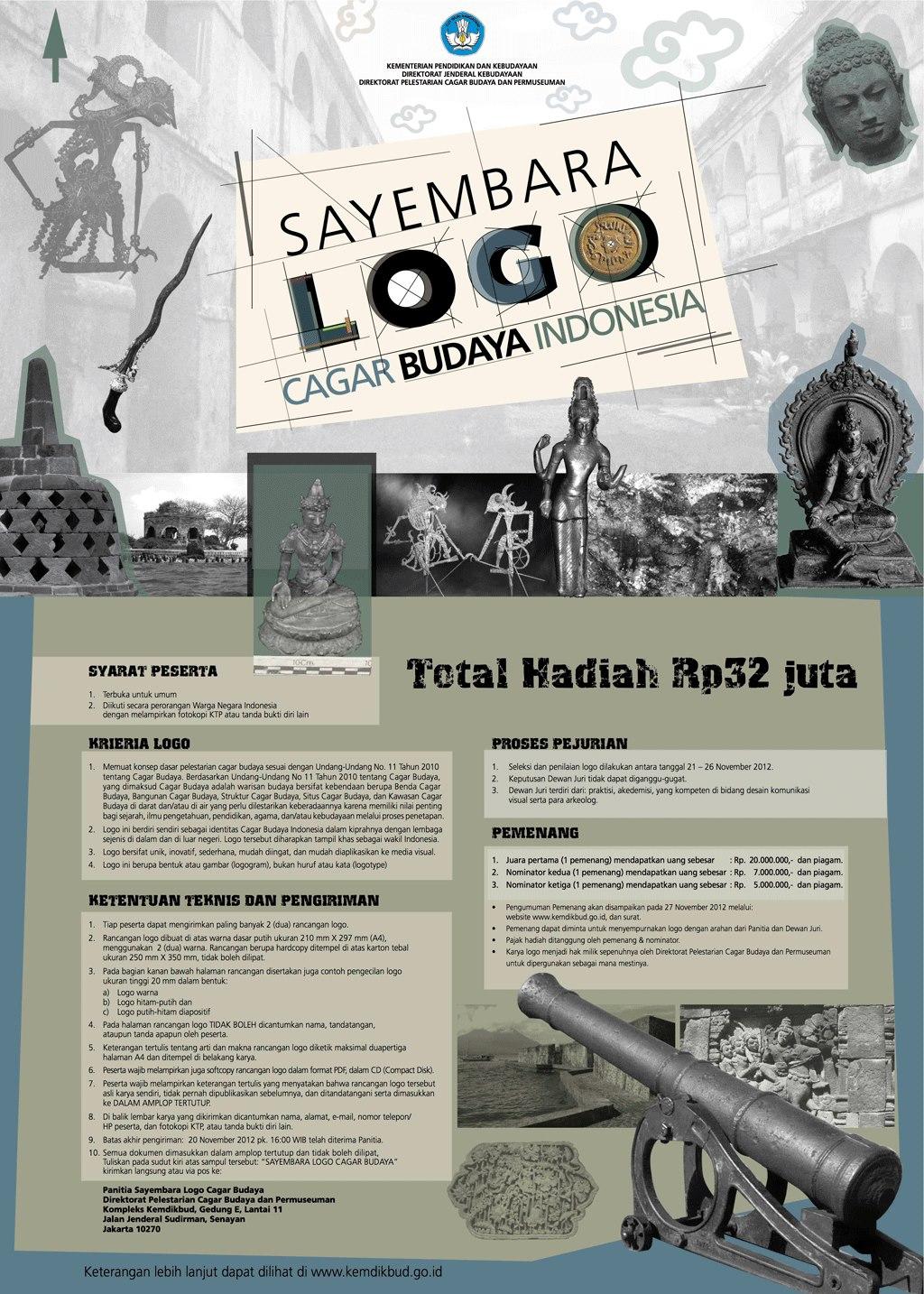 Sayembara Logo Cagar Budaya Indonesia