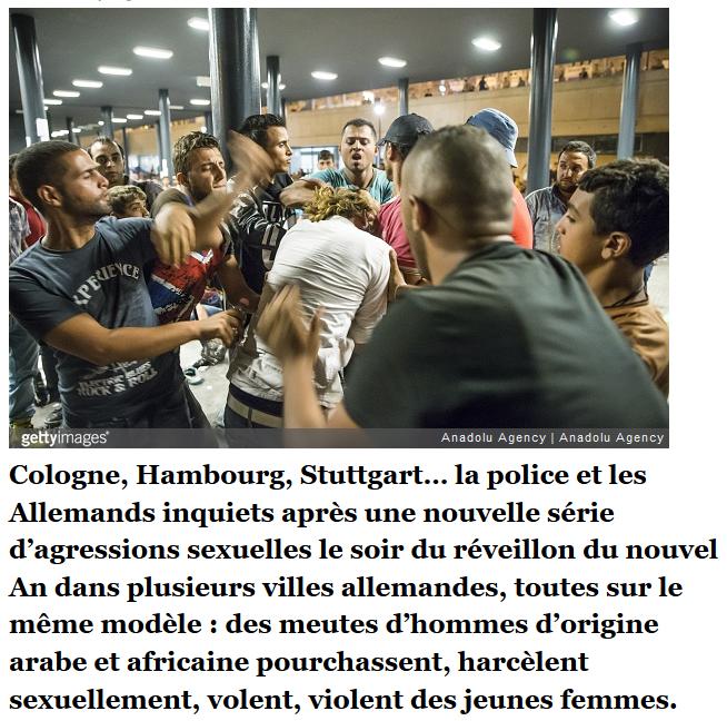 En Allemagne, des femmes « chassées comme du gibier » par les réfugiés
