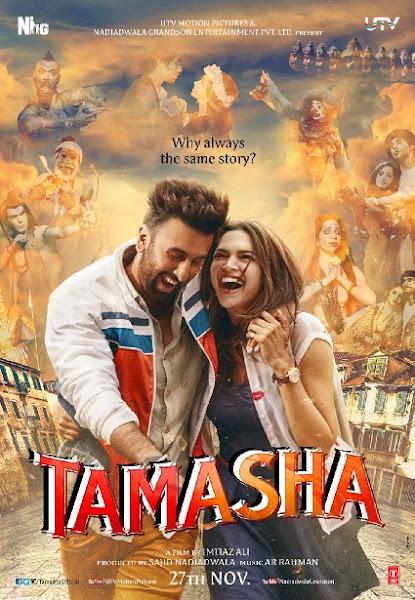 Poster Of Tamasha 2015 480p Hindi DVDRip Full Movie Download