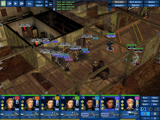 UFO: Aftershock - Cultist Base Attack Screenshot