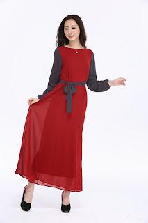 Maxi dress cantik murah rezeki