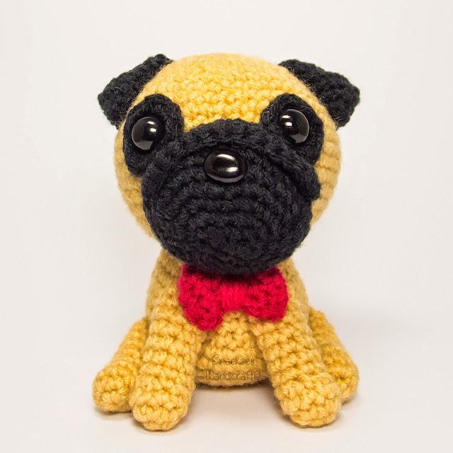 Pug for a Custom Order ~ Snacksies Handicraft Corner
