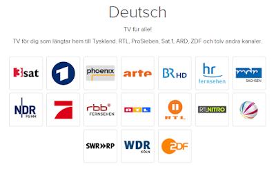 tysk tv i sverige
