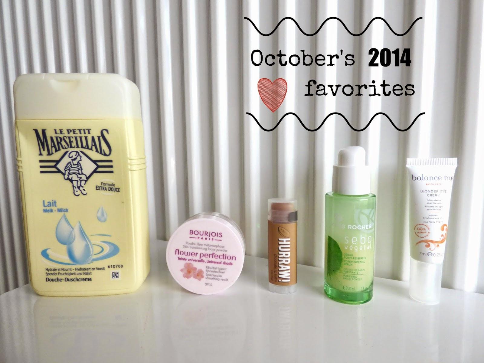 produits favoris octobre 2014