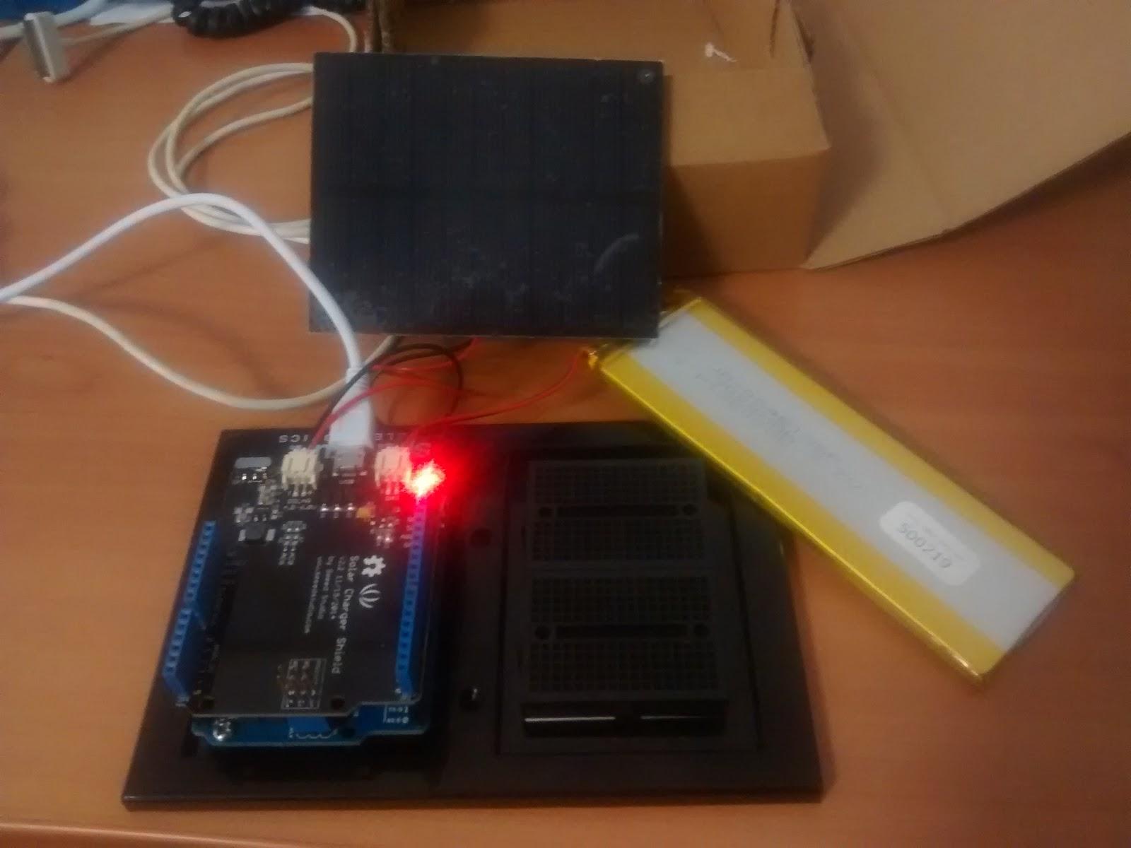 Pannello Solare Con Arduino : Debian su hardware obsoleto arduino con batteria lipo e