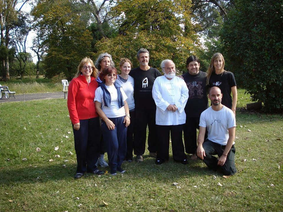 Con Yves Requena y alumnos de EL CENTRO