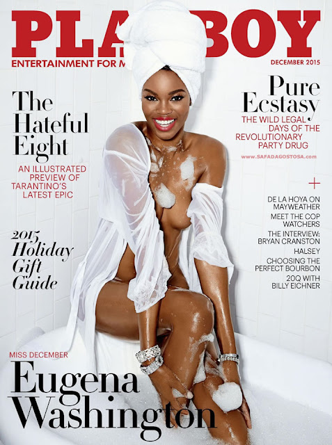 Fotos de Eugena Washington nua e pelada na Playboy