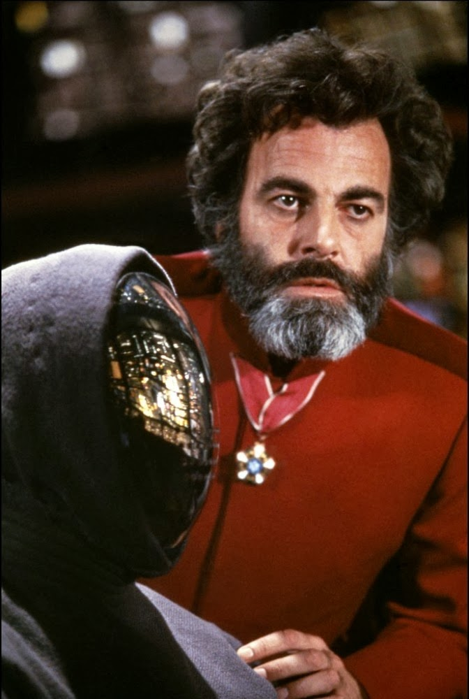Image  Maximilian Schell and the Mirrorface Drones in The Black HoleMaximilian Schell Black Hole