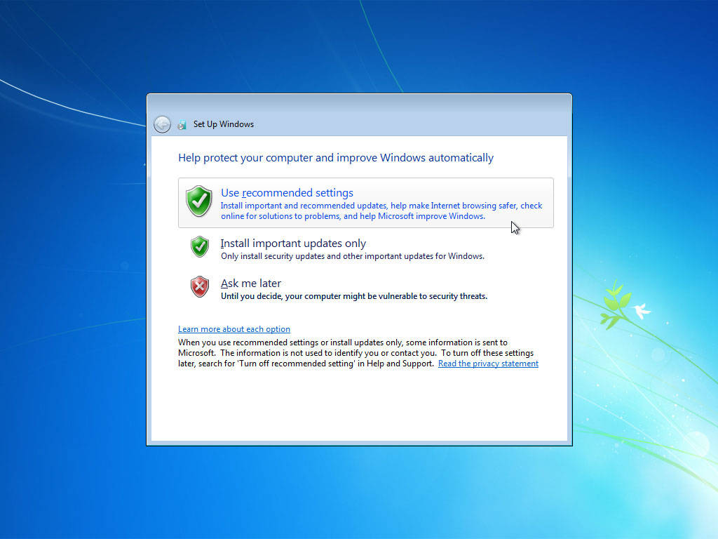 Everything windows how to install windows 7 for Installing windows
