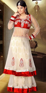 Net-Bridal-Lehenga-Designs