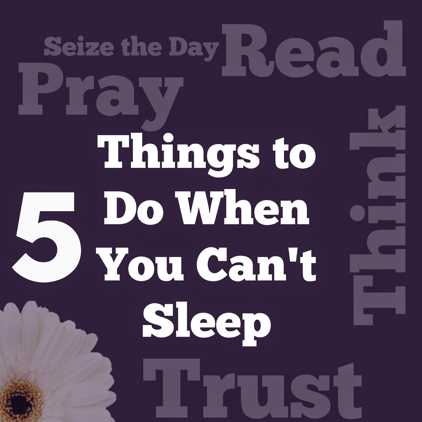 Ladder of mercy can t fall asleep 5 things you can do