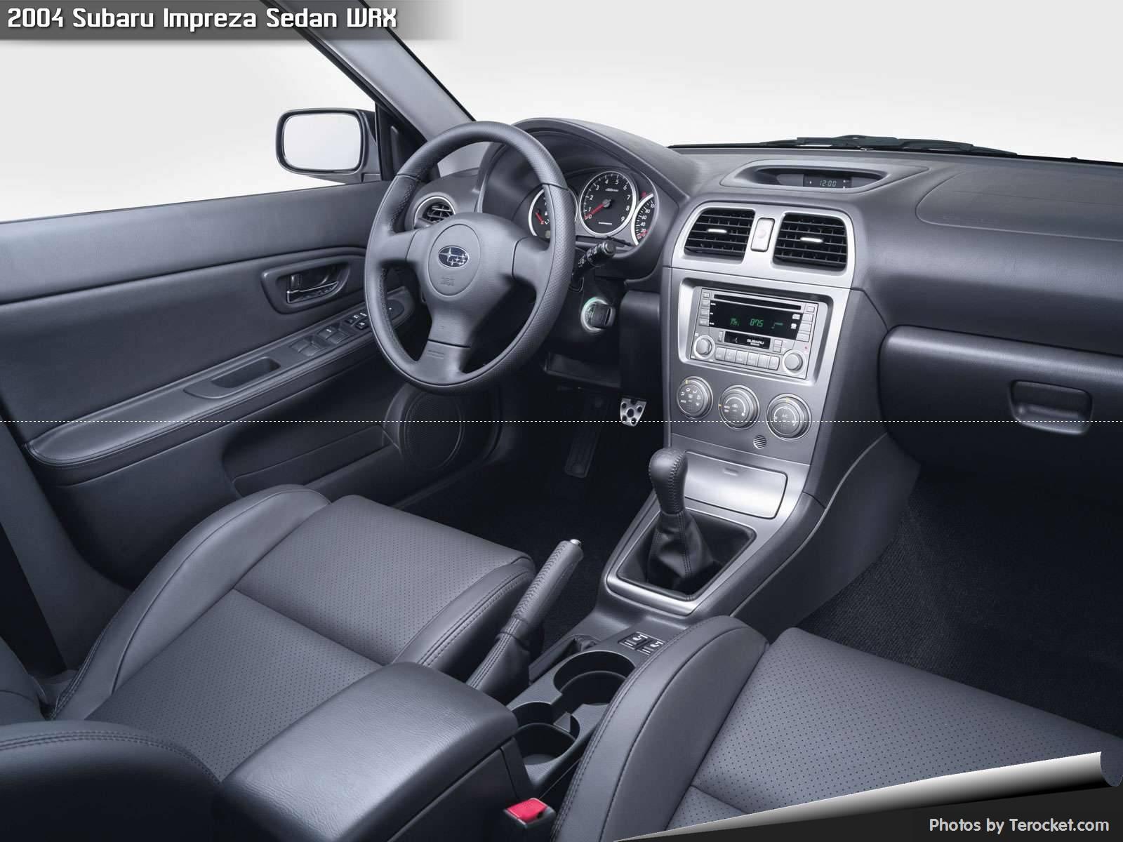 Hình ảnh xe ô tô Subaru Impreza Sedan WRX 2004 & nội ngoại thất