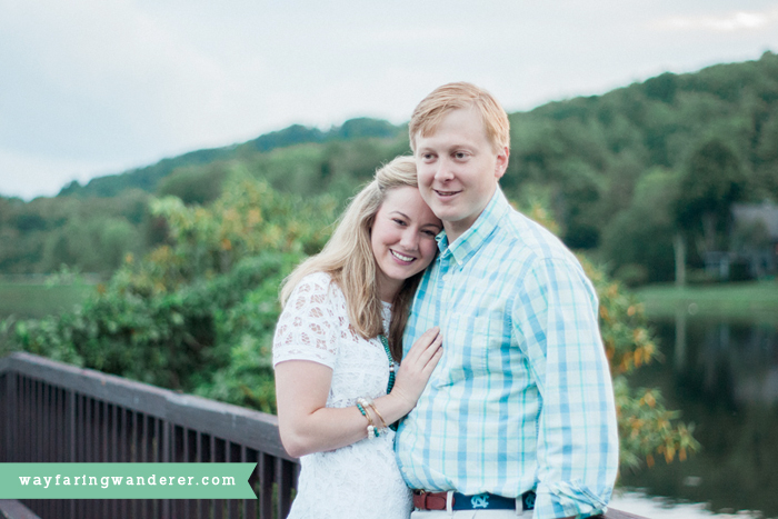 Ali + JB's Engagement Adventure at Grandfather Golf & Country Club | Boone NC Photographer
