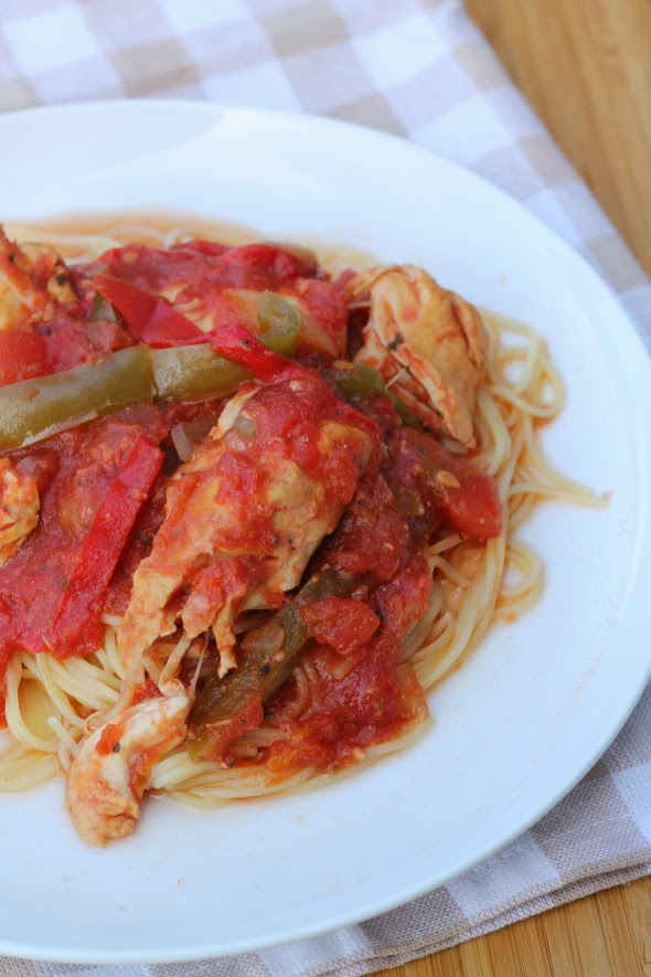 Easy Crock-Pot Chicken Cacciatore