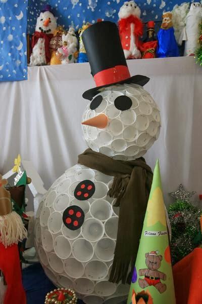 Decoraci n navide a del colegio a m p a antonio machado - Decoracion navidena para oficinas ...