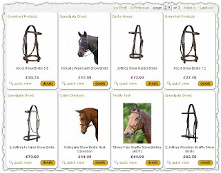 Equestrian product search