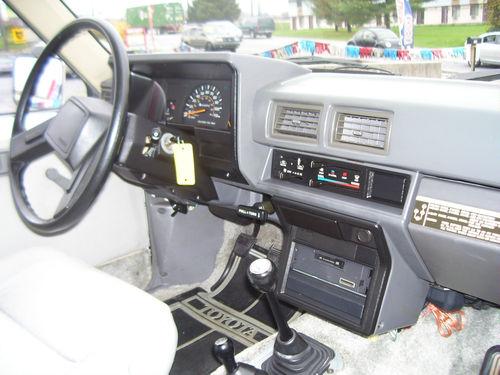 1985 Toyota Pickup Interior Parts