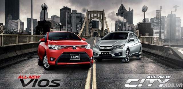 Lần đầu mua xe chọn xe oto Honda City hay Toyota Vios 2015