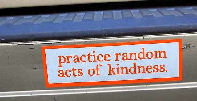 random acts of kindness and happiness