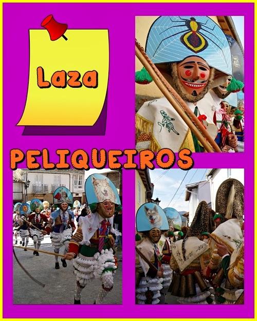 http://audicionelinguaxecrabergondo.blogspot.com.es/2014/02/entroido-galego-os-peliqueiros-de-laza.html