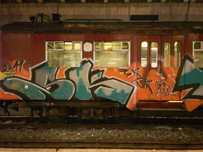 SK TK SLK graffiti
