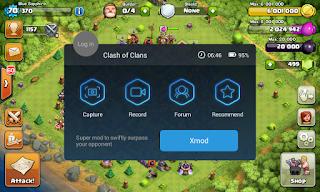Cara Terlengkap Memasang Dan Menggunakan Xmod Pada Games Clash Of Clans (COC)