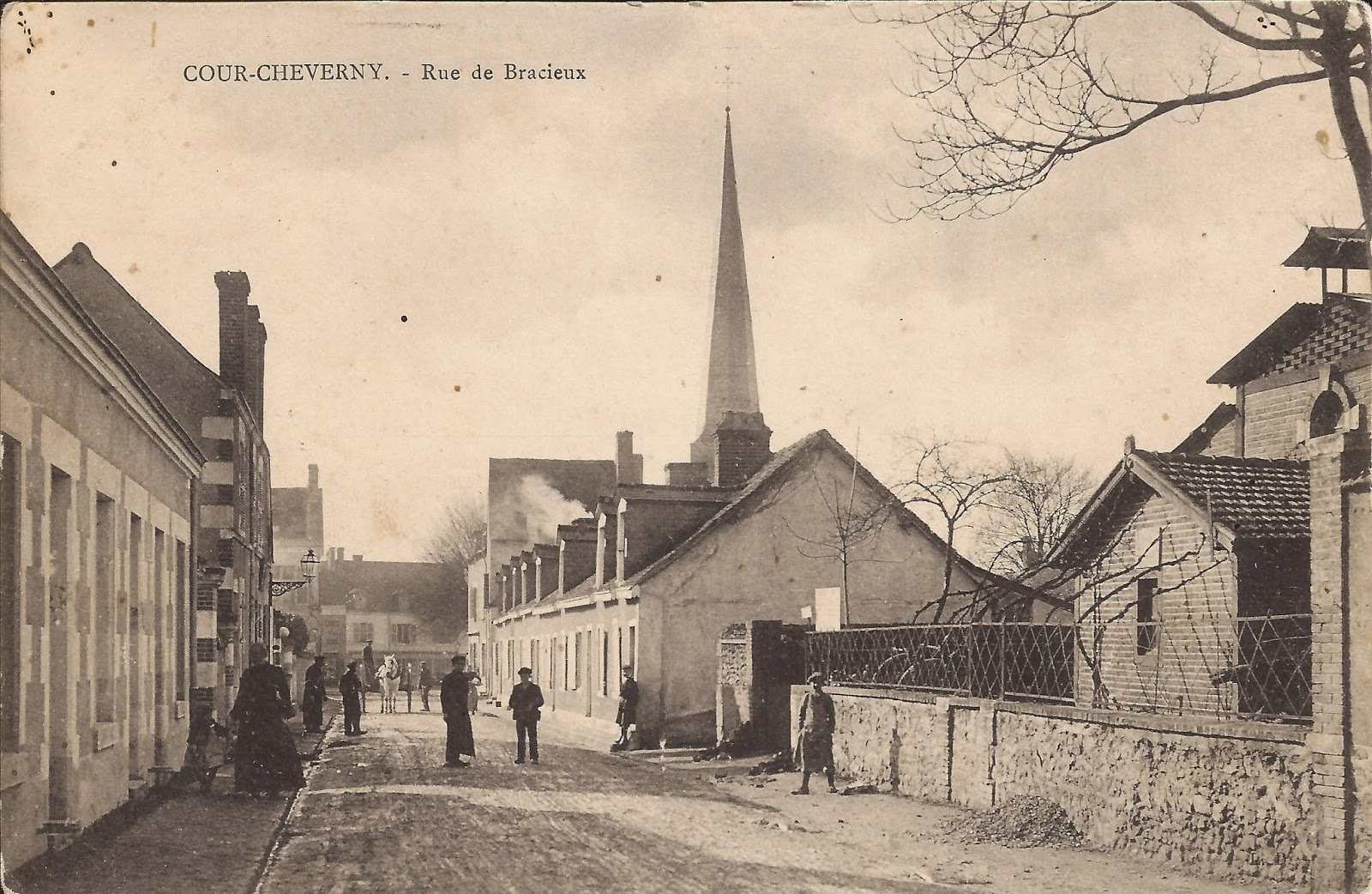 Rue Barberet à Cour-Cheverny - Ancienne usine à gaz