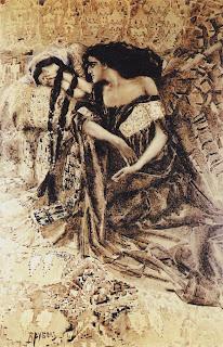 Mikhail Vrubel - Tamara and Demon -