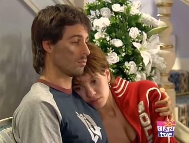 Hugo SIlva y Elena Ballesteros, romances de series televisivas