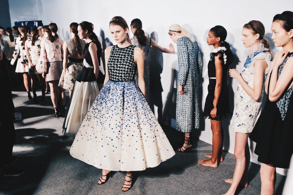 Ana Maddock- Giambattista Valli Paris Haute Couture Fashion Week SS16