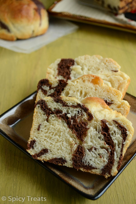Marbled Asian Bread