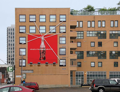 12 Clever and Creative Advertisements on Buildings (12) 12