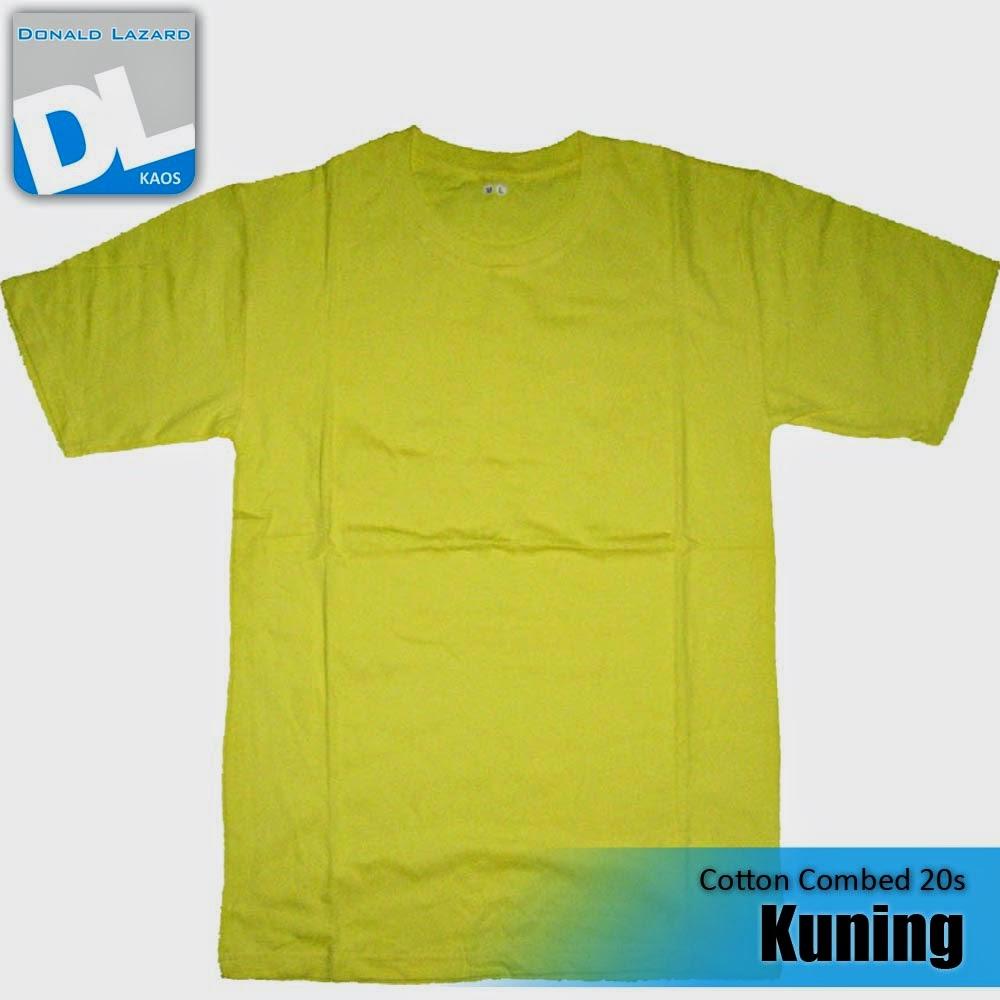 Sablon Warna Kaos Kuning